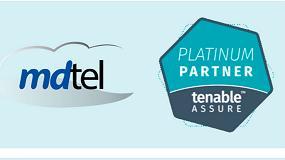 Foto de mdtel consigue la certificación platinum de Tenable