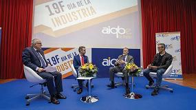 Foto de AIQBE celebra el Día de la Industria con la participación del consejero, Juan Bravo, y el fundador de UNICOOS, David Calle