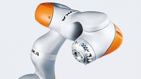 Foto de Kuka exhibe su tecnología robótica en Advanced Factories 2020