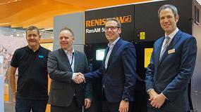 Foto de Sandvik y Renishaw colaboran en la aprobación de nuevos materiales de fabricación aditiva