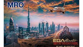 Foto de EGA Master expone en MRO Middle East Dubai