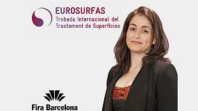 Foto de Entrevista a Pilar Navarro, directora de Eurosurfas, el Encuentro Internacional del Tratamiento de Superficies de Barcelona