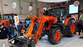 Foto de Kubota descubre en FIMA la nueva serie de tractores M6002