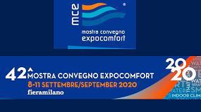 Foto de Mostra Convegno Expocomfort se pospone a septiembre ante el brote de Coronavirus