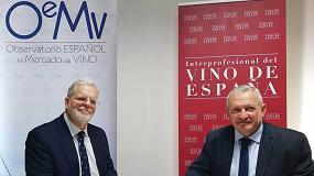 Foto de La Interprofesional del Vino de España y OeMv se unen para la mejora de la información sectorial
