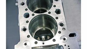 Foto de Mecanizado de alta precisión de los agujeros de cilindro para los motores de los camiones