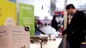 Foto de 'Prevenir innovando', el lema de ASPY en el Advanced Factories