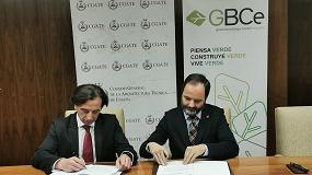Foto de GBCe y el CGATE firman un acuerdo para mejorar la salud y bienestar en los edificios españoles