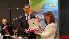 Foto de Agragex reconoce la labor exportadora de Goizper, Exafan y Azud