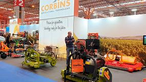 Foto de Corbins incorpora una gama de maquinaria para eliminación ecológica de hierbas