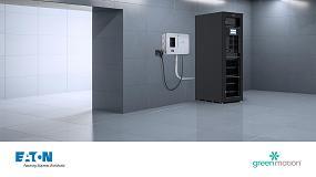 Foto de Eaton e Green Motion unem forças para facilitar a integração de carregadores VE em edifícios com armazenamento de energia