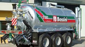 Foto de AG-Group incorpora a su catálogo las cisternas Bossini