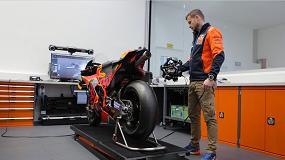Foto de KTM Motorsports instala en su planta escáneres 3D comercializados por AsorCAD