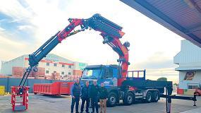 Foto de Palfinger entrega a Lerocat Cotransca el conjunto equipado con grúa PK 165.002 TEC 7