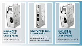 Foto de Pasarelas Stand-alone, compatibles con EtherNet/IP e integrables en Estudio 5000