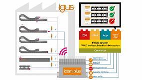 Foto de igus desarrolla una aplicación 4.0 para el sistema FIELD de Fanuc