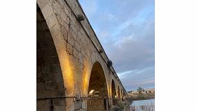 Foto de El puente romano de Mérida se ilumina con la tecnología LED de Artesolar