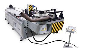 Foto de Máquina de curvar tubo CNC – Série CH (ficha de produto)