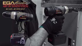 Foto de EGA Master presenta su nuevo atornillador a batería