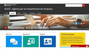 Foto de Acció facilita que las empresas puedan ofrecer tecnología o material sanitario para el COVID-19