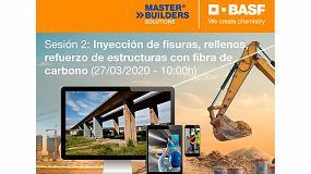 Foto de Próximo curso online de BASF sobre ´Tratamiento de Fisuras, Rellenos y Anclajes, y Refuerzo Estructural con Fibra de Carbonó