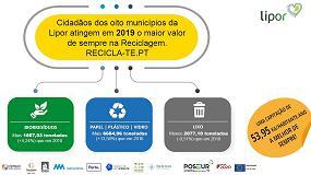 Foto de Cidadãos dos oito municípios da Lipor atingem em 2019 o maior valor de sempre na Reciclagem