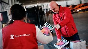 Foto de Samsung y Save The Children unen fuerzas para acabar con la emergencia educativa en los hogares sin recursos