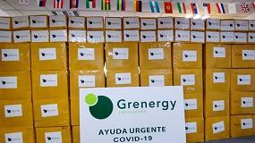 Foto de Grenergy dona 55.000 Equipos de Protección Individual (EPI) al Ayuntamiento de Madrid