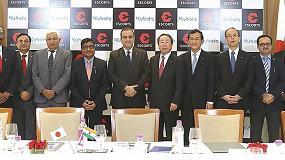 Foto de Kubota adquiere el 10% de la multinacional india Escorts