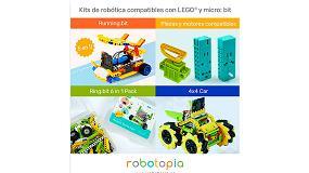 Foto de Nuevos kits de robótica compatibles con LEGO y micro:bit
