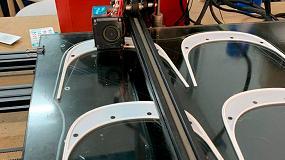 Foto de Newgarden fabrica viseras protectoras en sus impresoras 3D para donarlas al personal sanitario