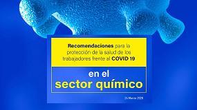 Foto de Feique elabora un documento con recomendaciones para la protección de los trabajadores frente al COVID-19 en el sector químico