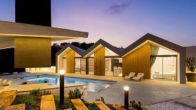Foto de Gabarró presenta el proyecto Villa Malena, un complejo turístico realizado con madera termotratada Lunawood