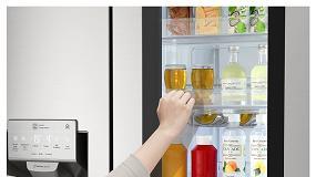 Foto de Dicas LG: frigorífico arrumado, alimentos frescos durante mais tempo