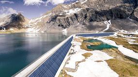Foto de Axpo construirá una planta solar en las paredes de la presa más alta de Europa