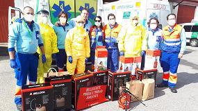 Foto de Bellota dona equipos de desinfección al SUAPS Andalucía