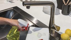 Foto de 5 dicas da Hansgrohe para manter uma limpeza ideal das misturadoras de cozinha e casa-de-banho
