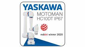 Foto de El robot colaborativo Motoman HC10DT IP67 gana el Red Dot Award por su diseño