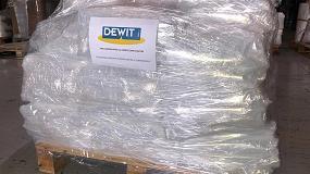 Foto de Dewit dona material para colaborar contra el coronavirus