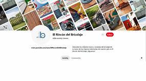 Foto de La plataforma de tutoriales El Rincón del Bricolaje de AFEB abre su canal en Pinterest