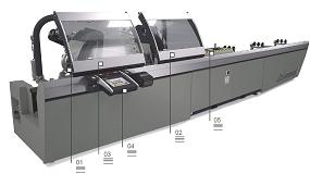 Foto de Precision TS2: máquina de corte eletrónica com cabeçote duplo e disco de corte (ficha de produto)