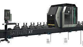 Foto de Satellite XTE: centro de usinagem de 5 eixos (ficha de produto)