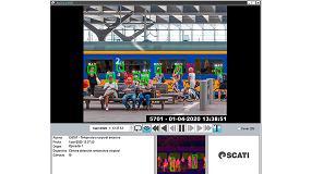 Foto de Scati incorpora alarmas por temperatura corporal excesiva en su sistema de gestión de vídeo