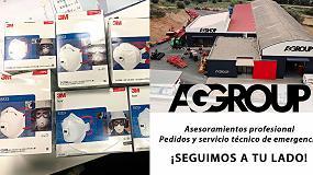 Foto de AG Group ofrece su apoyo a los productores y a la sociedad