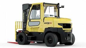 Foto de Hyster presenta una nueva serie de sus carretillas Fortens compactas con ruedas de bandaje de 7 y 8 toneladas
