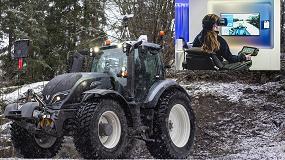 Foto de Valtra desarrolla un tractor controlable a 150 km de distancia con tecnología 5G