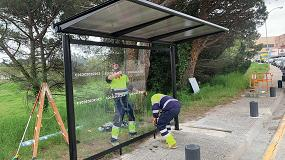 Foto de Riudellots de la Selva instala marquesinas de autobús Evolution