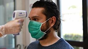 Foto de HT Instruments presenta el termómetro IR 8806 para la medición de temperatura corporal sin contacto