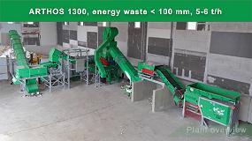 Foto de Planta de reciclaje Haas para residuos energéticos