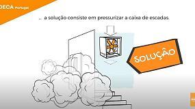 Foto de Soluções de segurança Sodeca em caso de incêndio (vídeo)